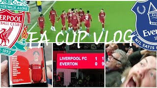 CURTIS JONES SCREAMER! LIVERPOOL 1-0 EVERTON | FA CUP MATCHDAY VLOG