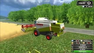Modtest, Landwirtschafts, Simulator, 2011, farming, Claas, Lexion, 460, v660, Flache, Map, von, 619Tobias619, EinEchterSpieleFreak
