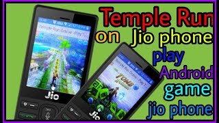 (Temple Run) jio phone me Temple Run game play//#androidcitychannel,by Androidcity//Android city