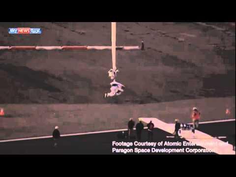 رقم قياسي جديد للقفز من الفضاء