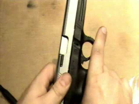 Completely disassemble SW9VE 9mm pistol - Taking apart the slide  - Duracoat video part 1
