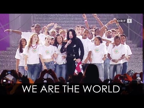 Michael Jackson - We Are The World live at World Music Awards...