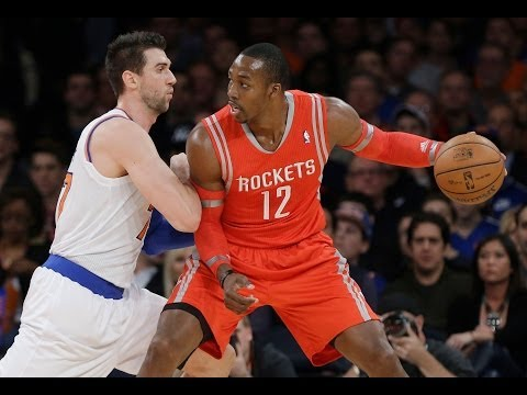 Andrea Bargnani - Houston Rockets @ New York Knicks (Nov 14, 2013)