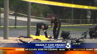 5 Teens Killed in Memorial Day Car Crash in Newport Beach