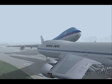 FS2004 - Crash of the Century (Tenerife Airport Disaster)