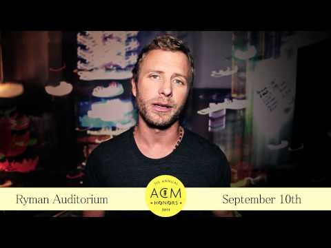 Dierks Bentley Invites Fans to ACM Honors 2013!