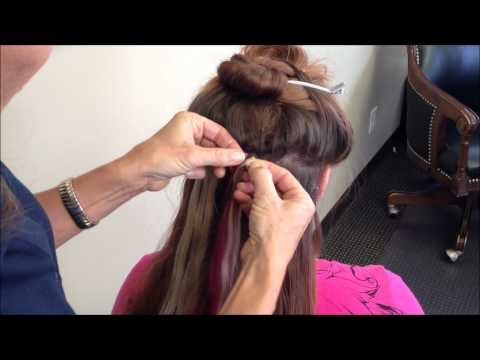 Removing Tape-In Hair Extensions - No-Shine. ProFlex II. Lace Front ...