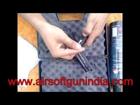 Beretta US  9mm style m9 blowback full metal airsoft pistol in india