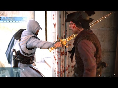 Assassin's Creed Unity Free Roam with Ezio`s Outfit