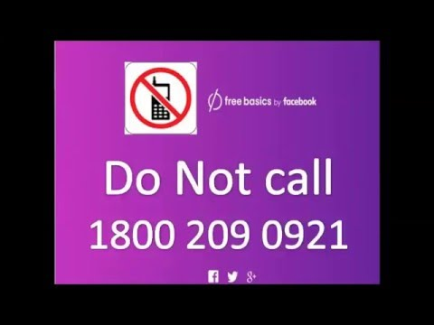 Miss Call to Support Free Basics by facebook   Net Neutrality   Save the internet