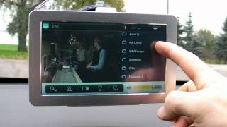 Android Tablet PC Mpeg4 DVB-T GPS Digital TV channels test ( Tallinn )