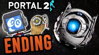 Portal 2 (ENDING!) WE DID IT!  ► Fandroid the Musical Robot!
