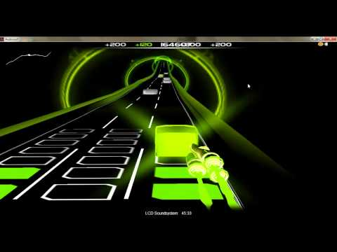 Audiosurf: 45:33 - LCD Soundsystem