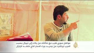 هذه قصتي- علي حسين سوري يعاني من دمار نيبال
