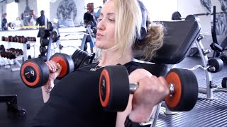 Abbie Macey: Females DO train arms!
