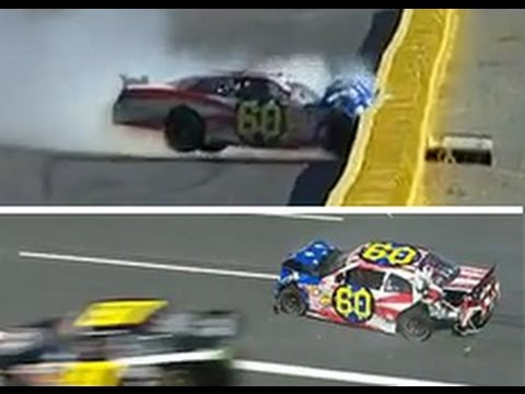 Travis Pastrana Hits the Wall Hard at Charlotte