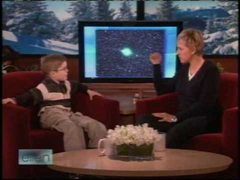 6-year-old Brandt Bickford on Ellen Music Videos