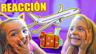 😱 PRIMERA VEZ EN MONTARSE EN UN AVION REACCION 🤗 Itarte Vlogs
