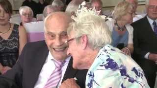 British couple become world's oldest newlyweds