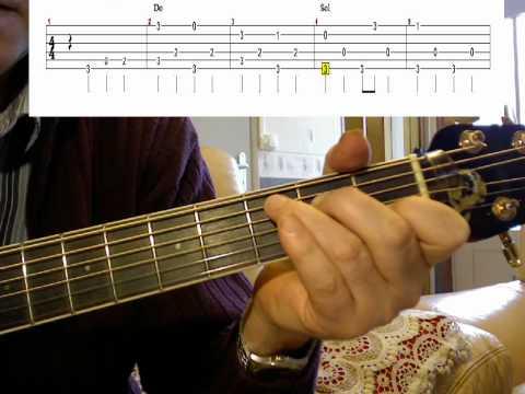 Apprendre la guitare Freigh Train Arpège_3 Modifié