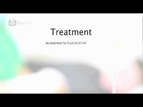 Ecoli Treatment