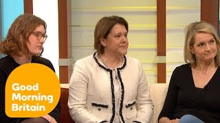 Piers Morgan Grills Anti-Donald Trump Feminists | Good Morning Britain