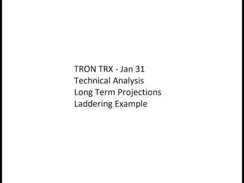 Play TRON TRX - Jan 31 Technical Analysis - Long Term Projections and Laddering Example in Mp3, Mp4 and 3GP