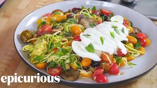 How to Make Spiralized Ratatouille | Epicurious