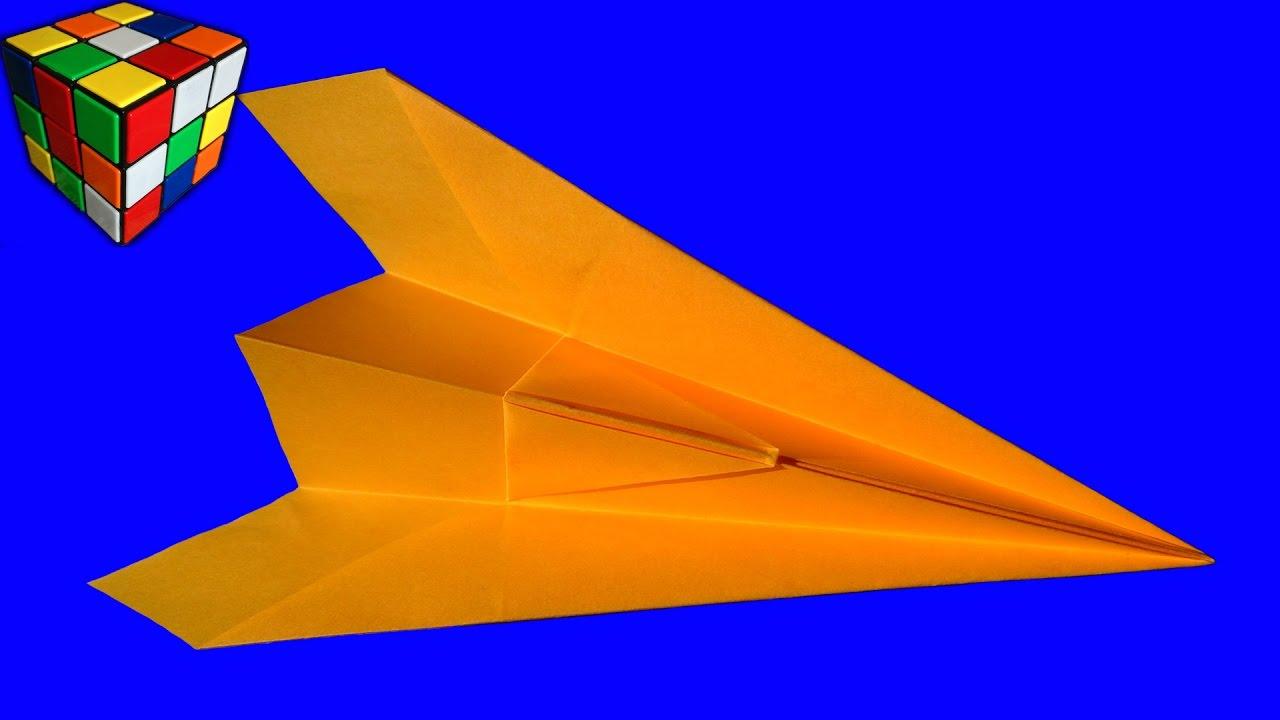 Видео самолетик из бумаги своими руками