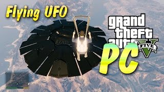 GTA 5 PC - Flying UFO (100% Save Game Download)