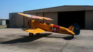 CFM Marvin flies in Stearman
