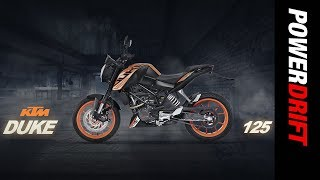 KTM 125 Duke First Look : The affordable orange pocket rocket : PowerDrift