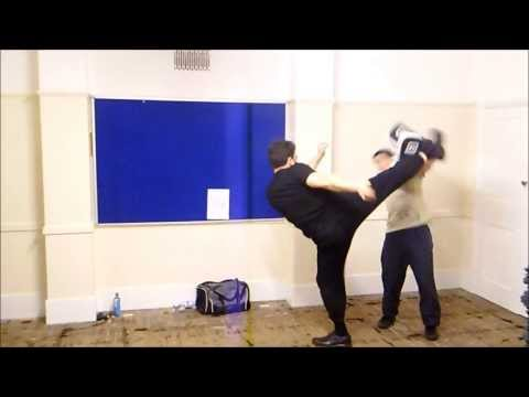 JKD Kickboxing Power Kicking Image 1