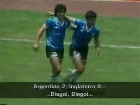 Maradona El mejor gol del siglo relatado por Victor Hugo Morales