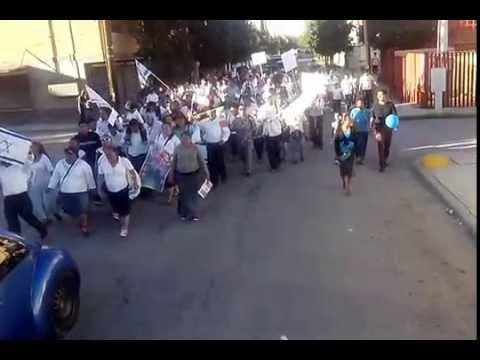 Marcha en Apoyo a Israel Cd. Juárez 2014 Parte 2