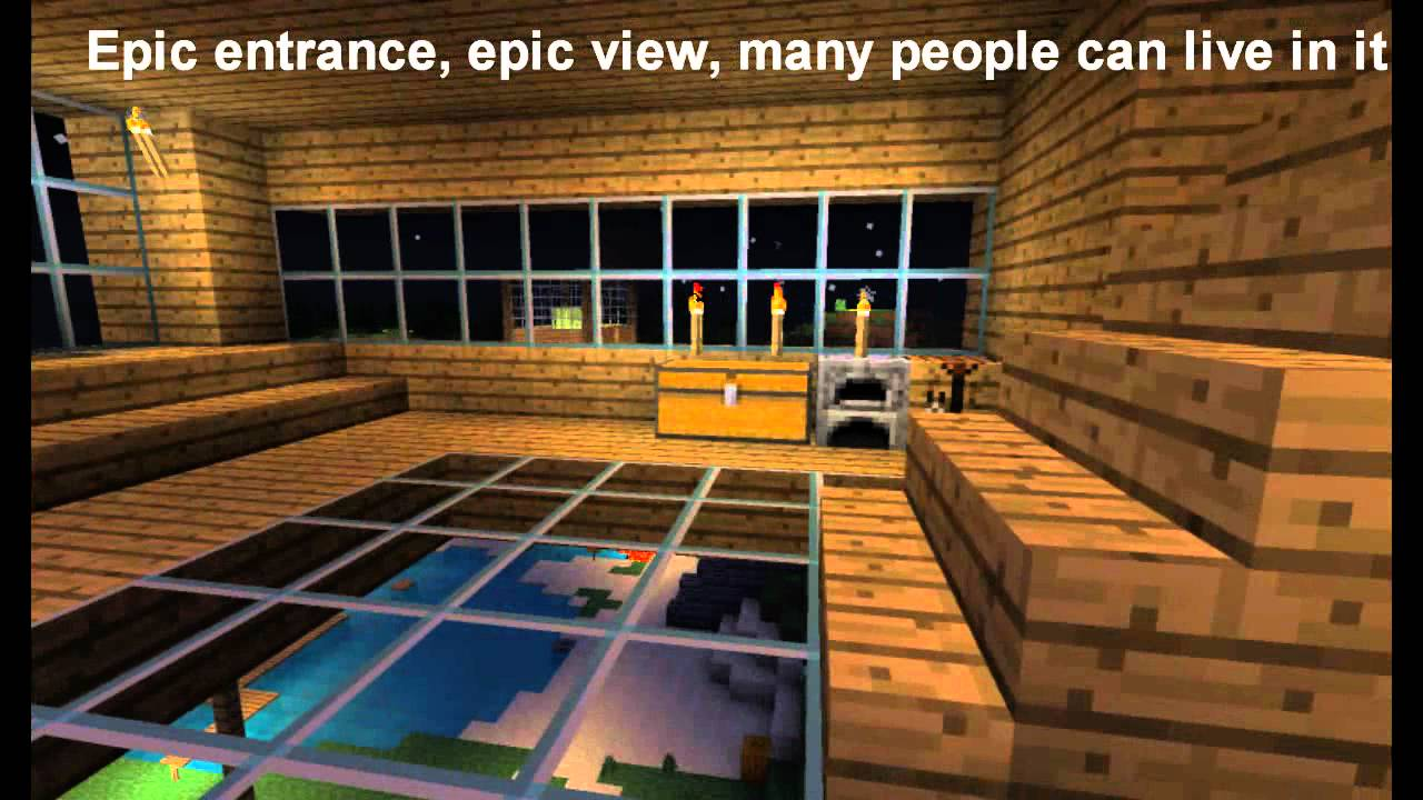 Cool House Designs Inside Minecraft - Unique Hou...
