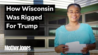 How a new voter suppression law threw Wisconsin to Trump