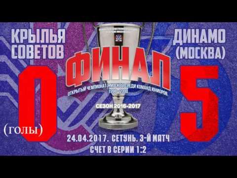 Юниорка КС Динамо 0:5 ( голы)