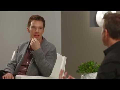 Benedict Cumberbatch and Edward Norton at the Variety Studio: Actors on Actors