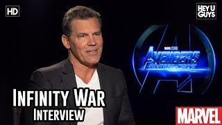 Josh Brolin on getting the character of Thanos right in Avengers Infinity War - Interview