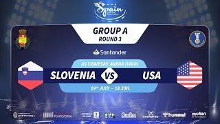 Словения до 21 : США до 21