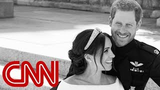 Harry and Meghan release official wedding photos