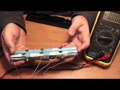 Как восстановить аккумулятор ноутбука, пример ремонта - Часть 2 - Смотри онлайн бесплатно лучшее видео об интерьерах и красивой