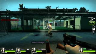 Left 4 Dead 2 (Gameplay) - Enfrentamiento - Parte #2