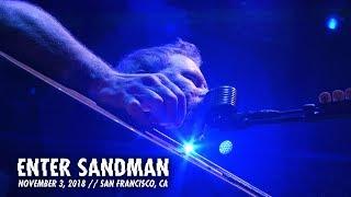 Metallica Enter Sandman Awmh Helping Hands Concert November 3 2018