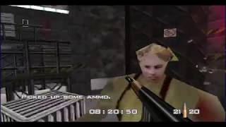 GoldenEye 007 N64 Walkthrough - Silo - 00 Agent