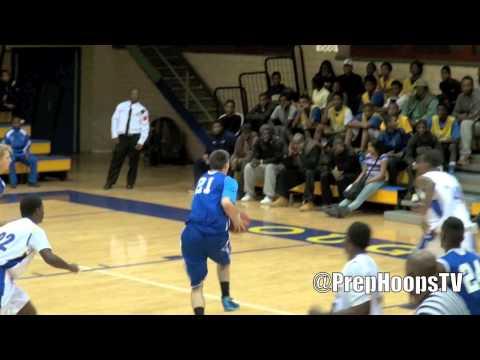 Miroslav Jaksic 2013 Walled Lake Western with a dunk vs Detroit Pershing