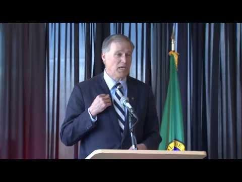 Washington Governor Jay Inslee Visits WSU Spokane to Celebrate Medical School