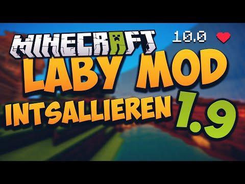 Minecraft Laby Mod 1.9 installieren - mit Optifine + Damage Indicator | Download + Installation