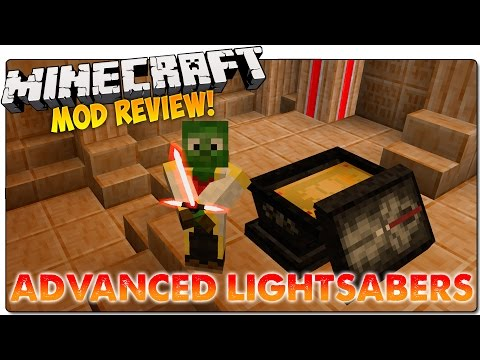 ADVANCED LIGHTSABERS MOD MINECRAFT 1.7.10   Sables laser de Star Wars   MINECRAFT MODS ESPAÑOL